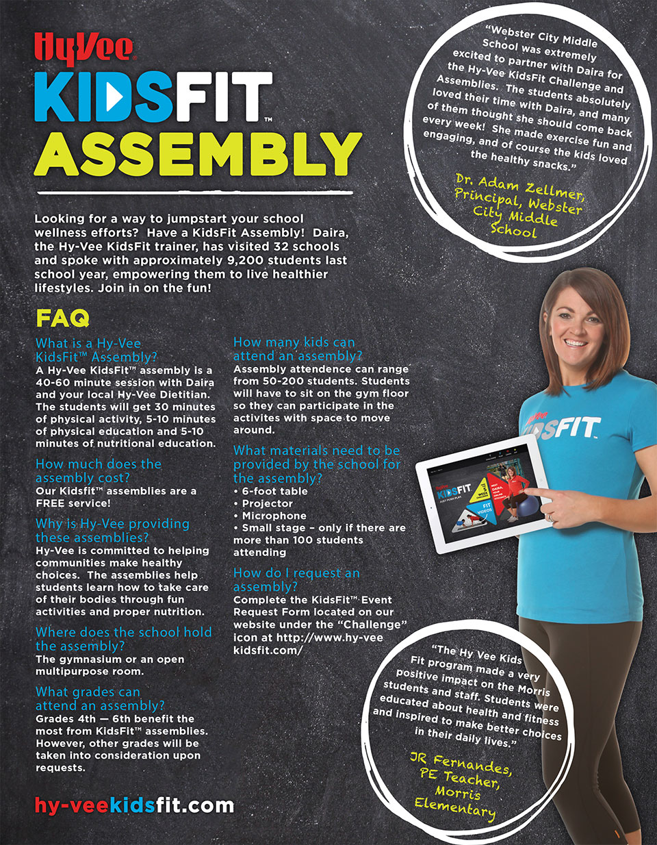 KidsFit School Assembly FAQ