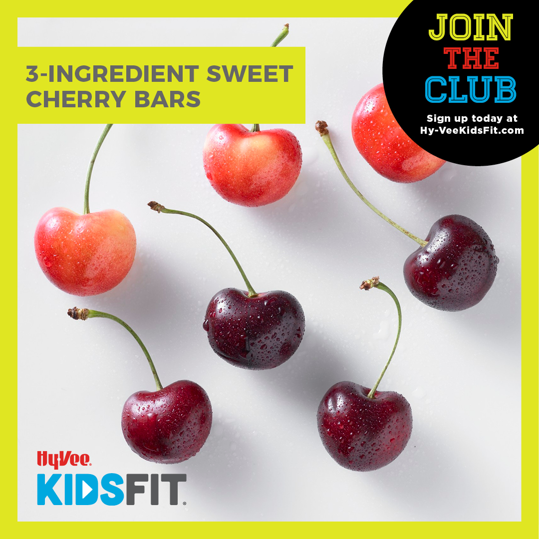 3-Ingredient Sweet Cherry Bars