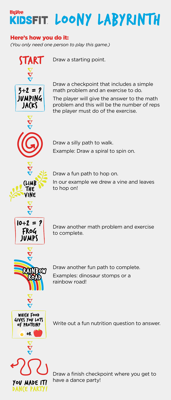 Loony Labyrinth Instructions