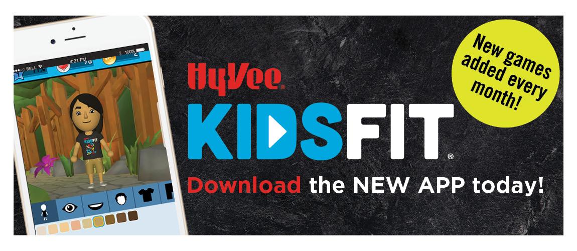 KidsFit App — Hy-Vee KidsFit