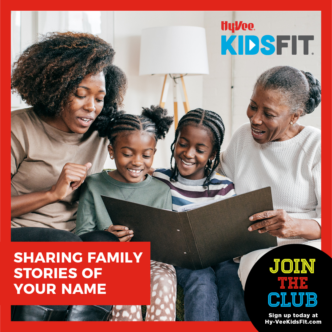 Sharing Family Stories of Your Name