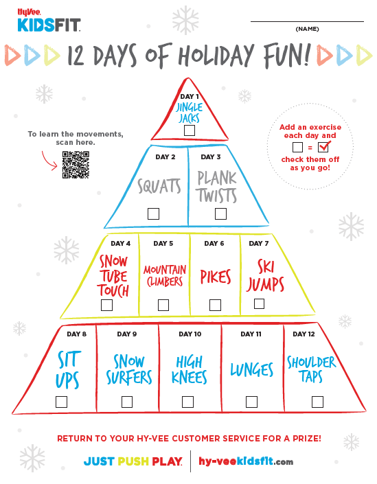 12 Days of Holiday Fun